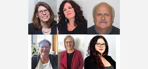 Peggy Schmeiser, Jennifer Poudrier, Dean Chapman, Anne Ballantyne, Karen Wood and Joelena Leader