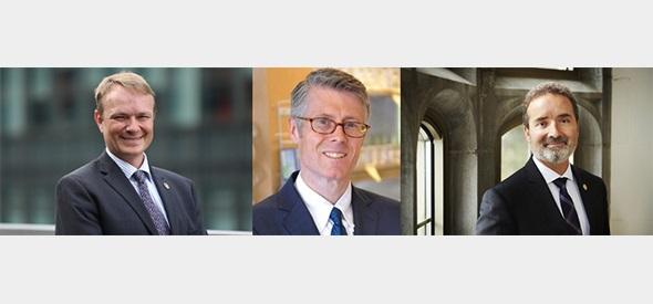 Evan Fraser, Malcolm Campbell, Rene Van Acker