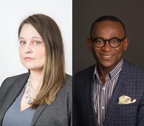 Lorian Hardcastle & Ubaka Ogbogu