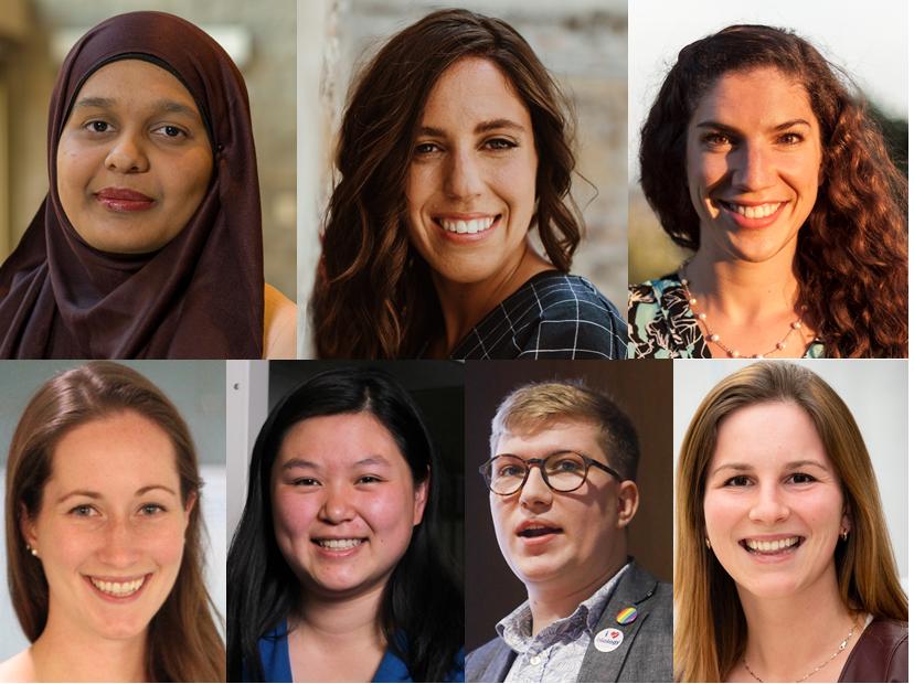 Farah Qaiser, Taylor Morriseau, Madison Rilling, Andrea Cartile, Molly Sung, Landon J. Getz