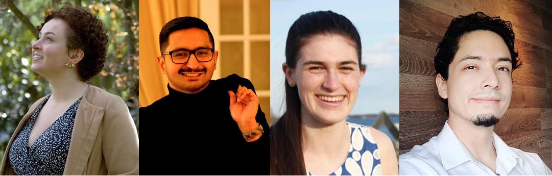 Authors Alexandra Ages, Anil Wasif, Ellen Rowe and Leonardo Lozano.